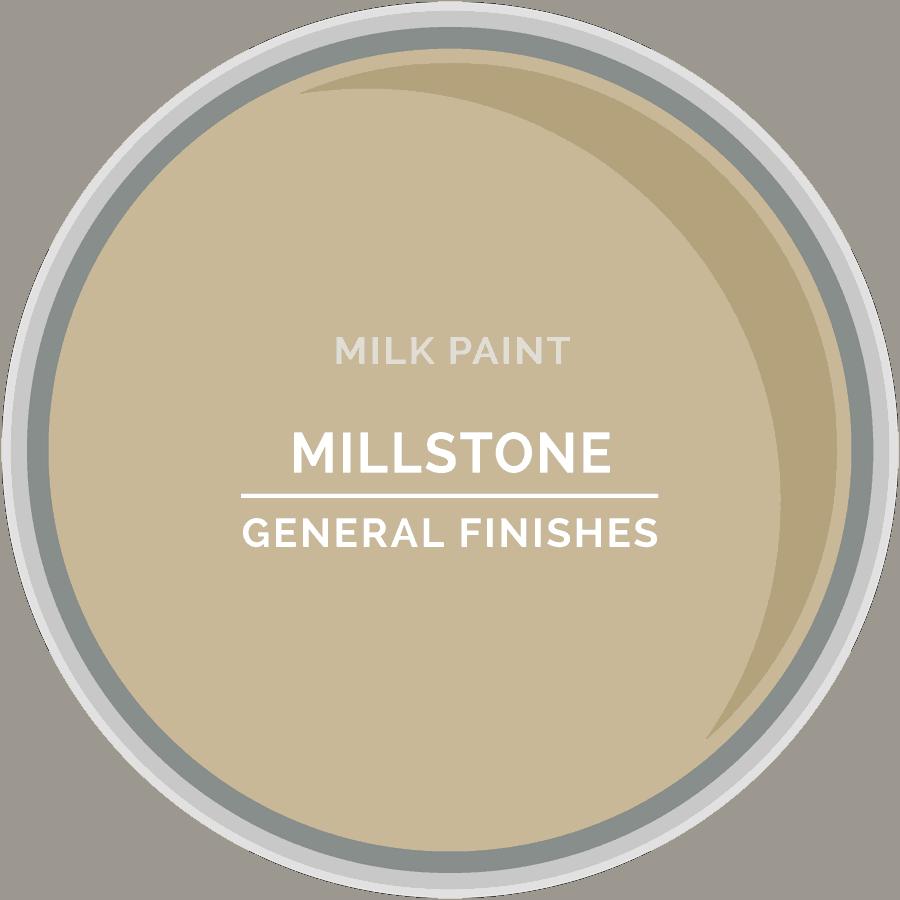 Millstone Milk Paint Color Chip