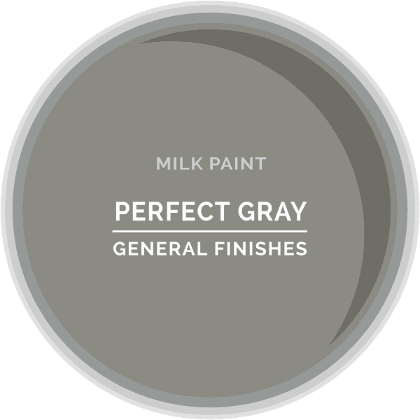 Perfect Gray Milk Paint Color Chip
