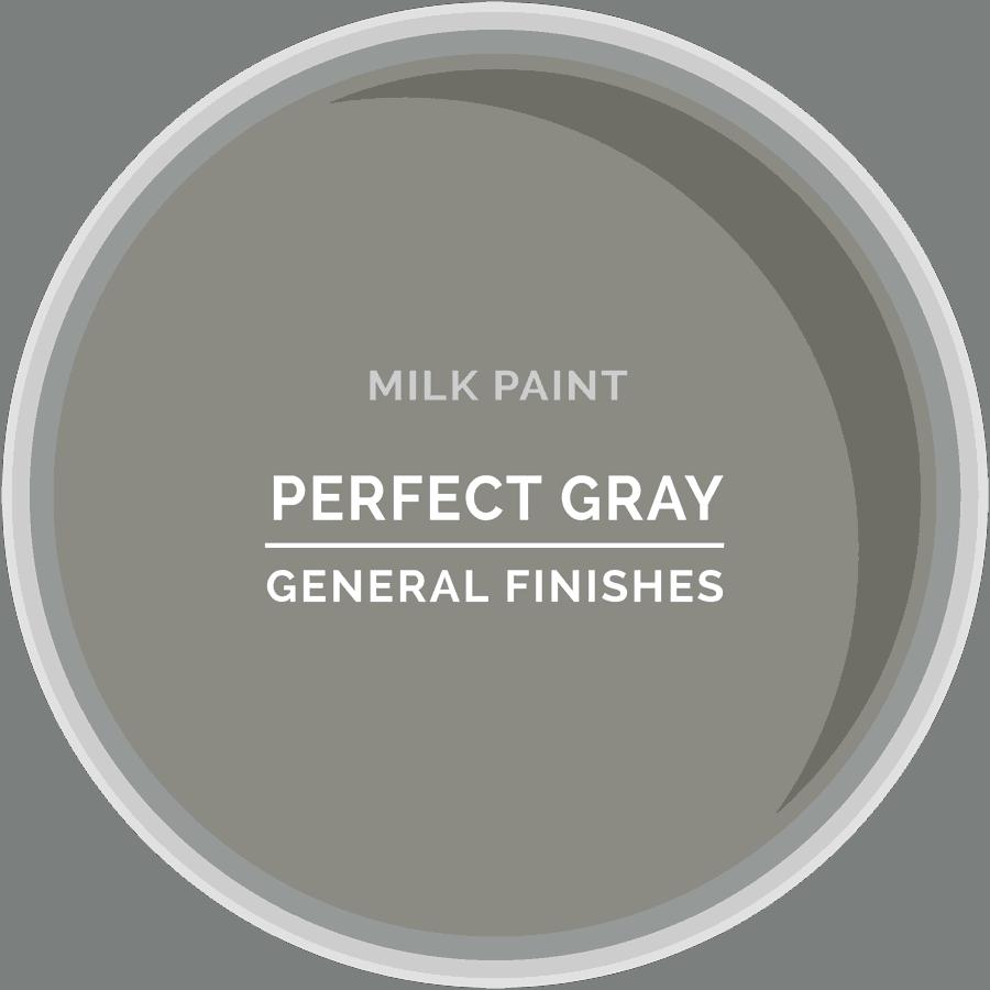 Perfect Gray Milk Paint Color Chip
