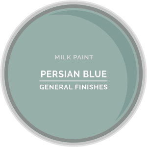 Persian Blue Milk Paint Color Chip