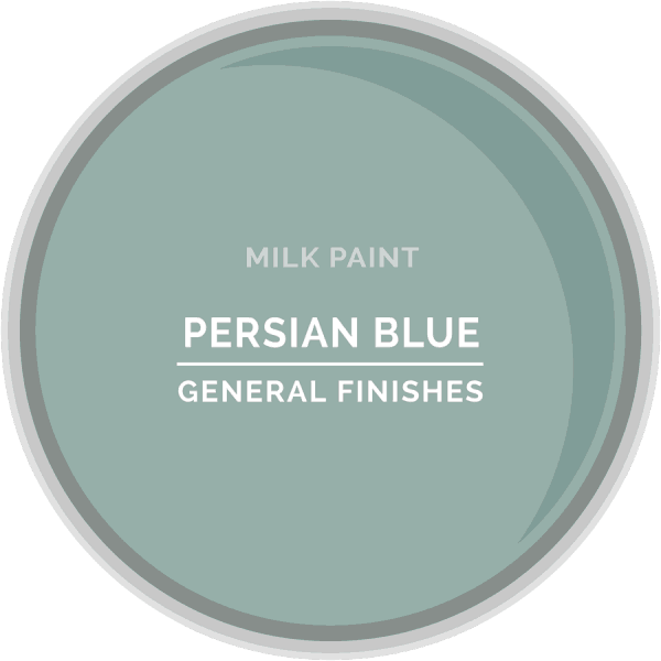 Persian Blue Milk Paint Color Chip