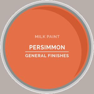 Persimmon Milk Paint Color Chip