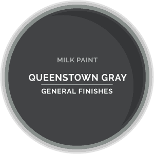 Queenstown Gray Milk Paint Color Chip