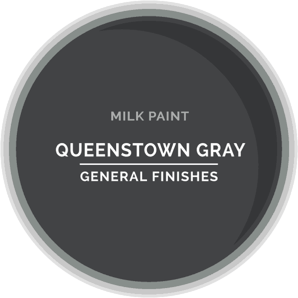 Queenstown Gray Milk Paint Color Chip