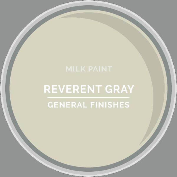 Reverent Gray Milk Paint Color Chip