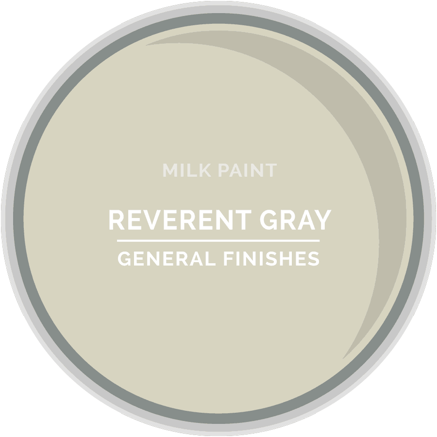 Reverent Gray Milk Paint Color Chip