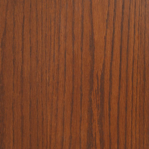 Water Based Wood Stain on Oak in Antique Brown by General Finishes