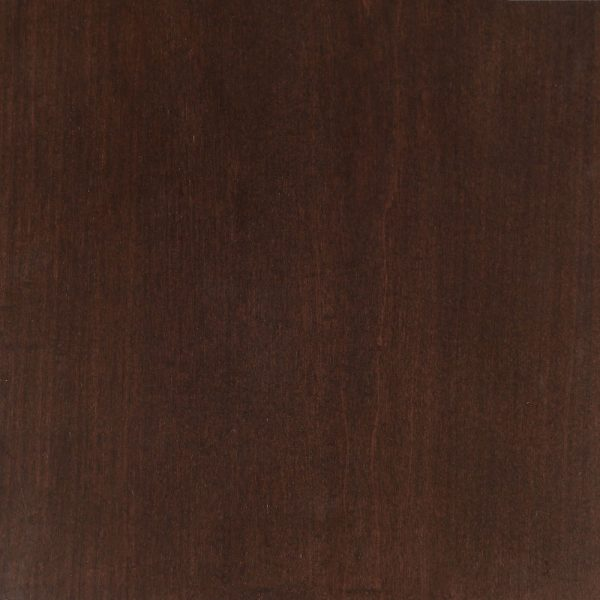 General Finishes Water Based Wood Stain Espresso on Maple