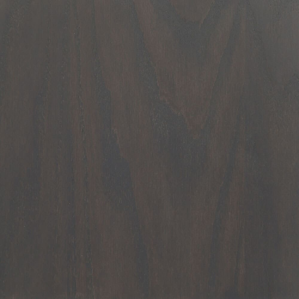 Water Based Wood Stain on Oak in Graphite by General Finishes