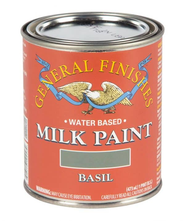 Pint of Basil Milk Paint by General Finishes