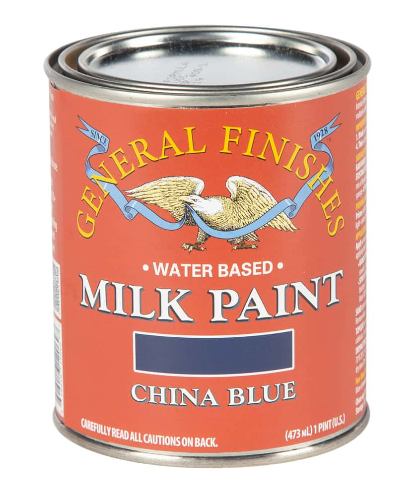Pint of China Blue Milk Paint by General Finishes