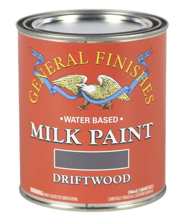 Quart of Driftwood Milk Paint by General Finishes