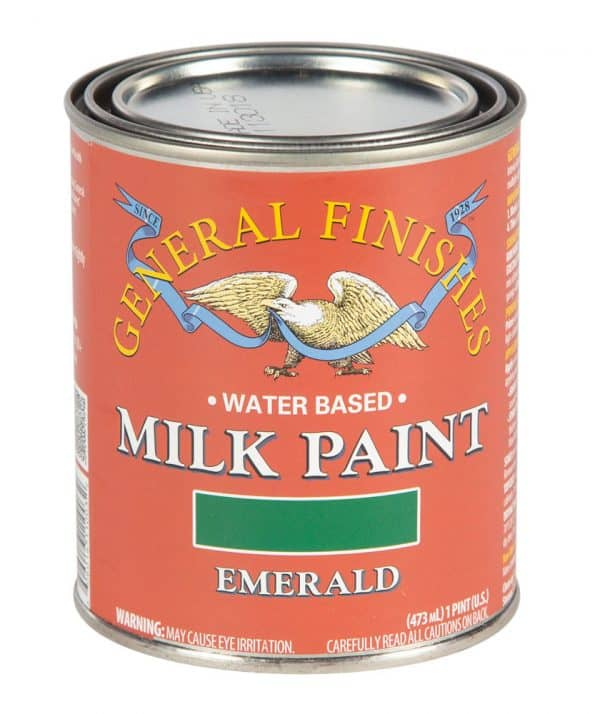 Pint of Emerald Milk Paint by General Finishes