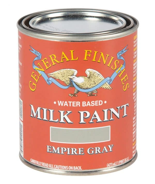Pint of Empire Gray Milk Paint by General Finishes