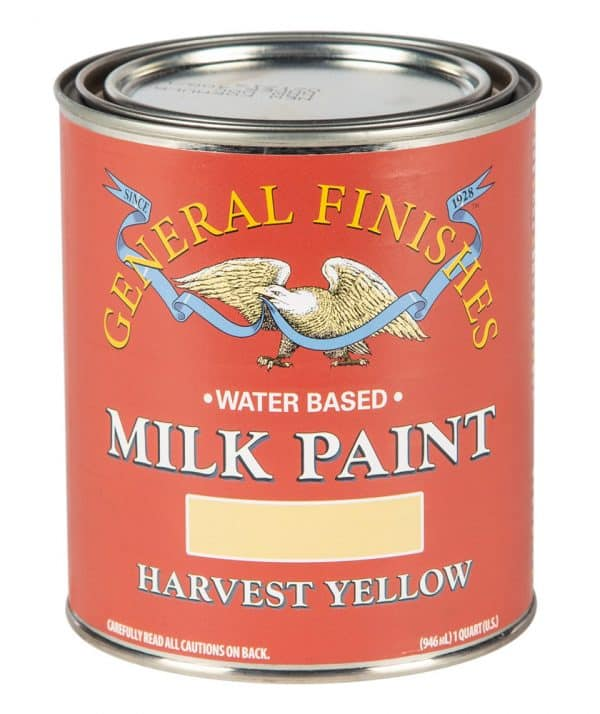 Quart of Harvest Yellow Milk Paint by General Finishes