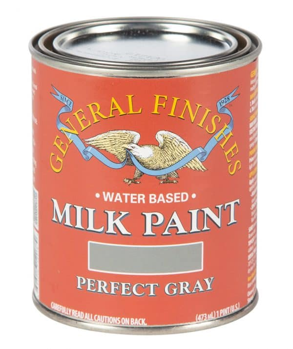 Pint of Perfect Gray Milk Paint by General Finishes