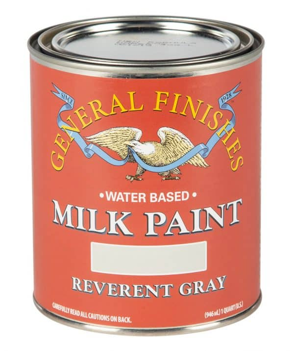 Quart of Reverent Gray Milk Paint by General Finishes