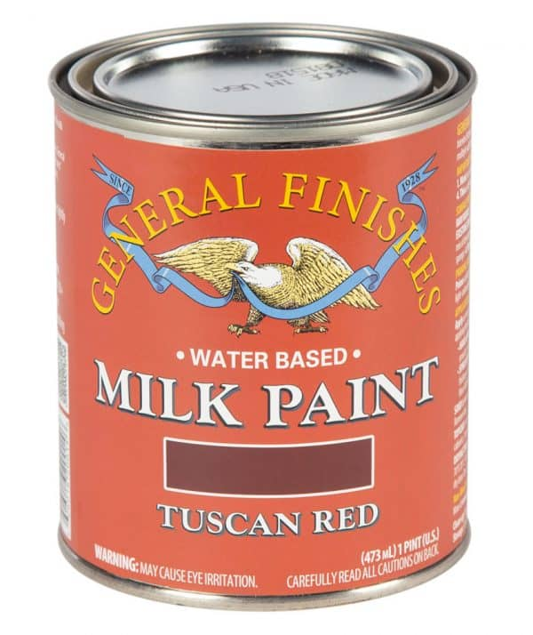 Pint of Tuscan Red Milk Paint by General Finishes
