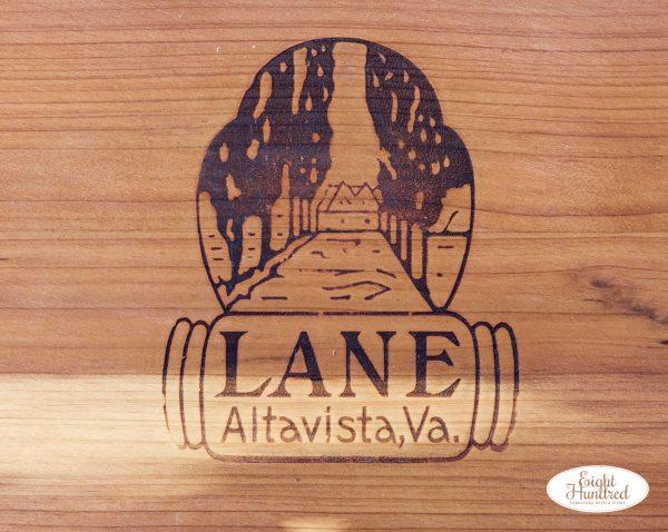 Lane cedar chest logo