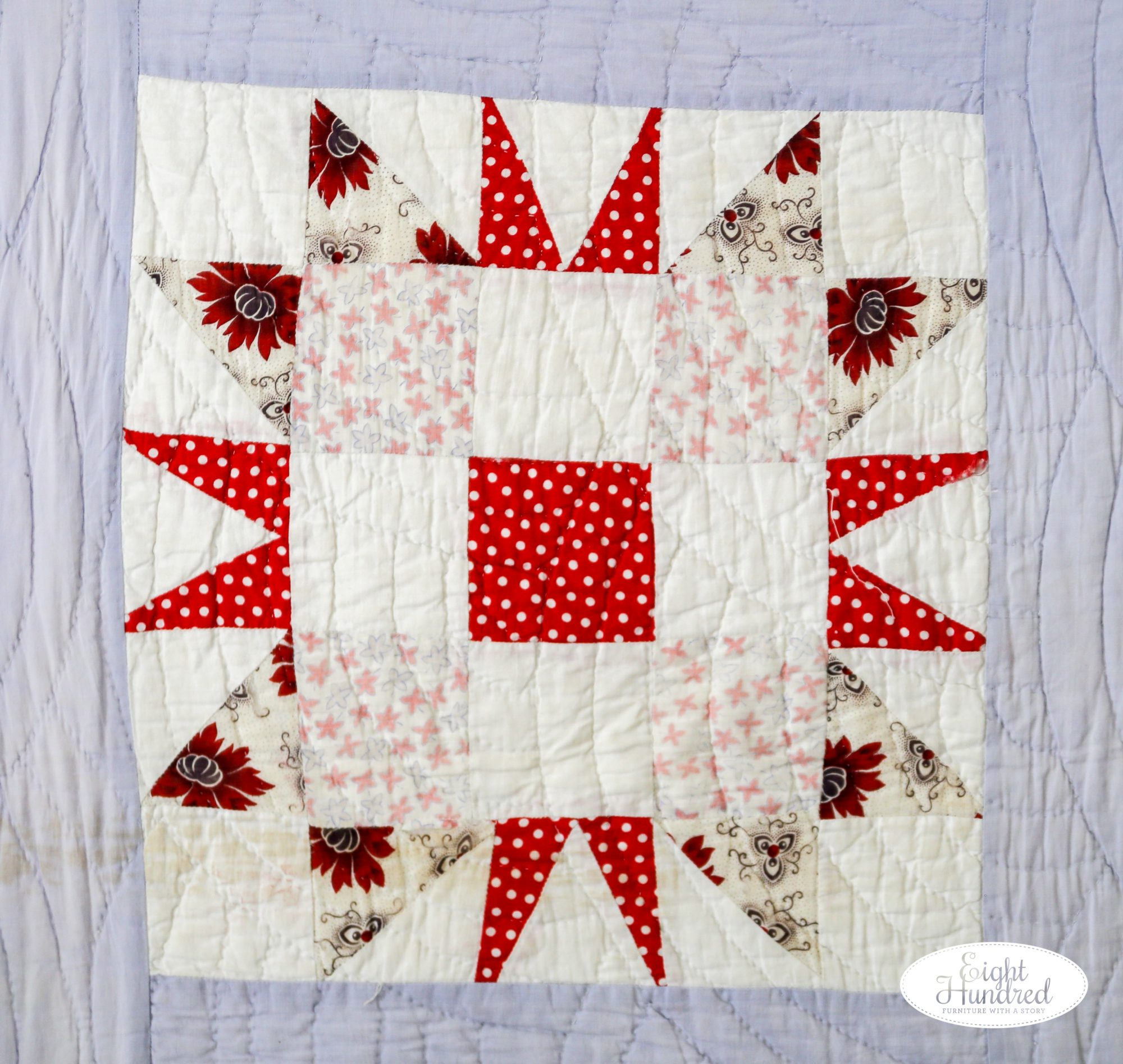 Beautiful quilt square