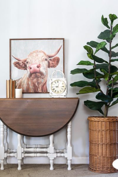 Graystone, Water Based Wood Stain, General Finishes, High Performance Topcoat, Flat, Eight Hundred Furniture, Gate Leg Table, Table Top, Stained Top, Refinishing Wood, Fiddle Leaf Fig Tree, Miss Mustard Seed's Milk Paint, Antiquing Wax, White Wax