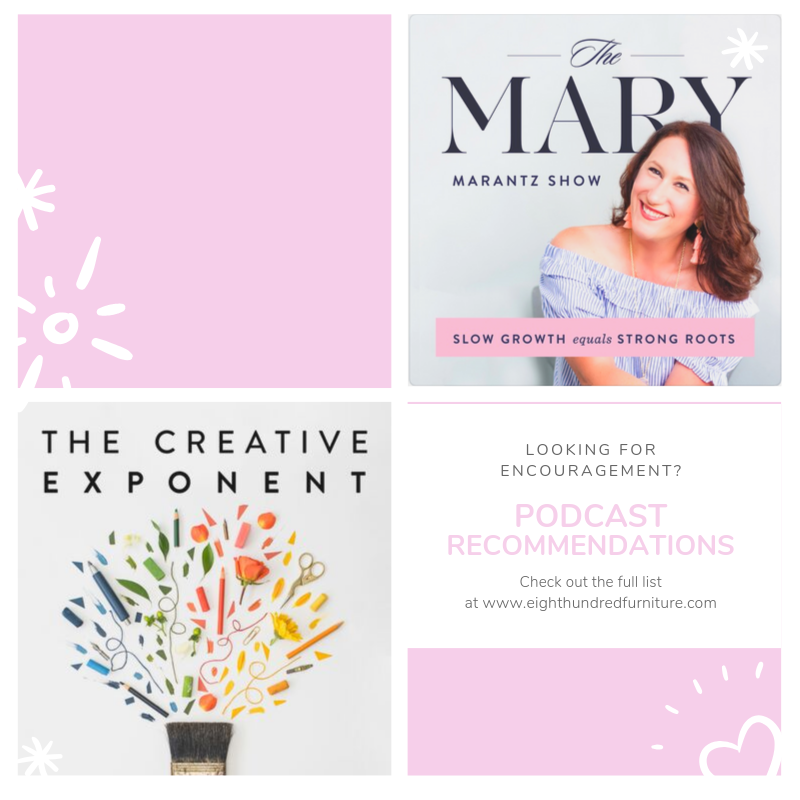 Mary Marantz, Shaunna West, Marian Parsons, Podcasts, The Creative Exponent