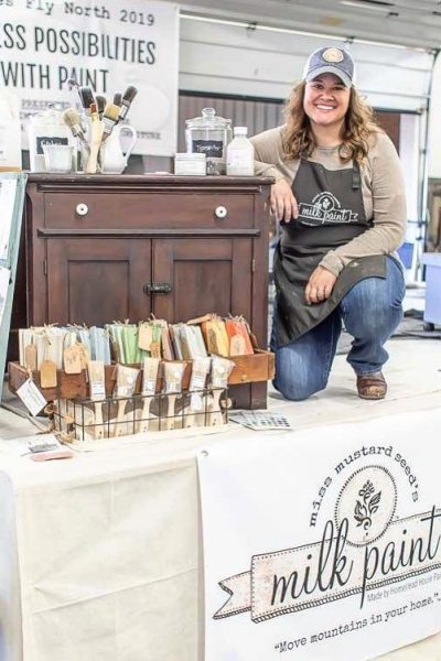 Jenn Baker, Eight Hundred Furniture, Miss Mustard Seed's Milk Paint, Witches Fly North 2019, Miss Morgans Milkweed Antiques, Lebanon Expo Center, Milk Paint