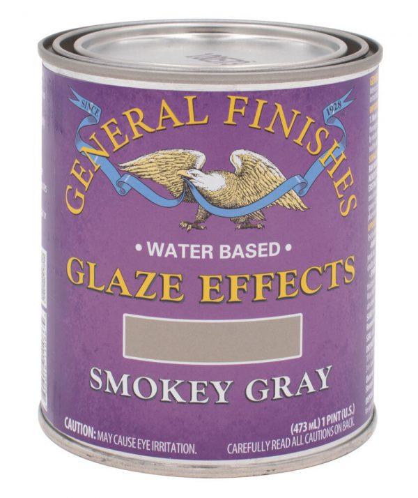 smokey gray glaze effects general finishes