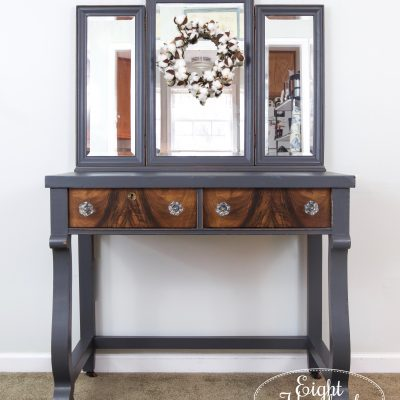 Queenstown Gray Empire Vanity