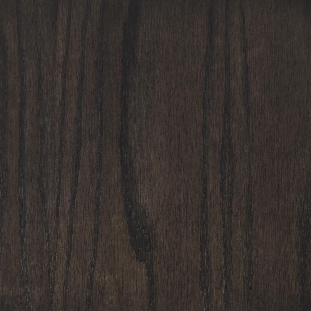 Carbon Gray Gel Stain on Oak