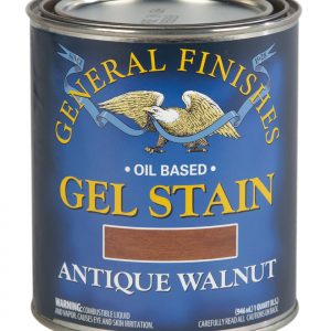 Antique Walnut Oil Based Gel Stain General Finishes