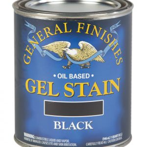 Black Oil Based Gel Stain Pint General Finishes