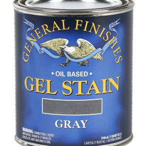 Gray Oil Based Gel Stain Pint General Finishes