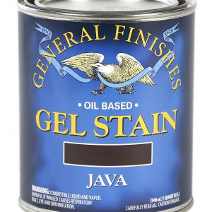 Java Oil Based Gel Stain Pint General Finishes