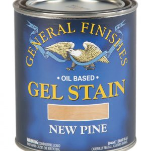 New Pine Oil Based Gel Stain Pint General Finishes