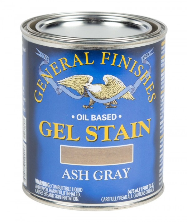 Ash Gray Gel Stain General Finishes Oil Based