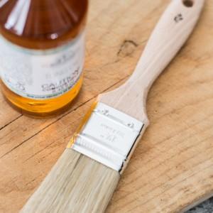 "1.5"" Natural Bristle Brush Miss Mustard Seed's Milk Paint"