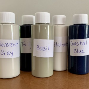 2 oz. Testers of General Finishes Milk Paint