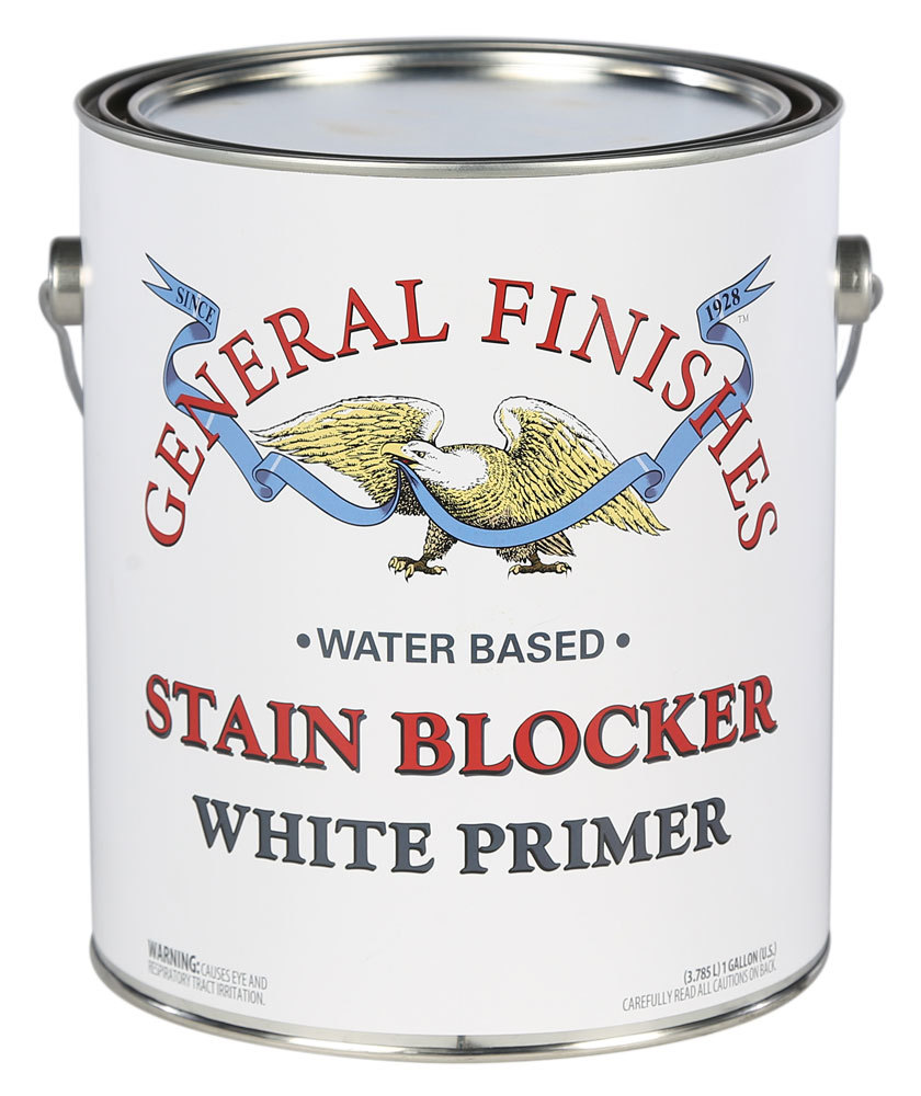 Gallon of General Finishes Stain Blocker