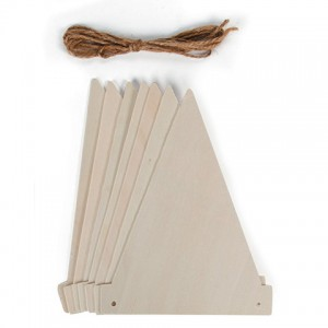 Wooden Pennant