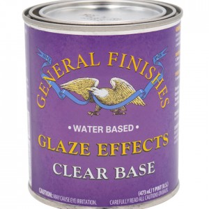 Clear Base Glaze Effects by General Finishes