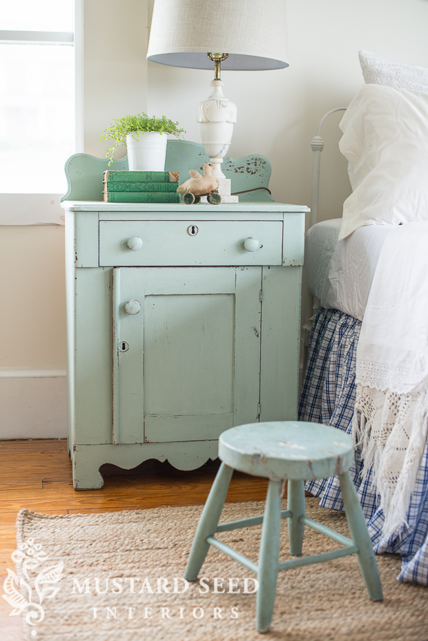 Miss Mustard Seed Washstand Inspiration