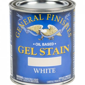 White Gel Stain Pint General FInishes