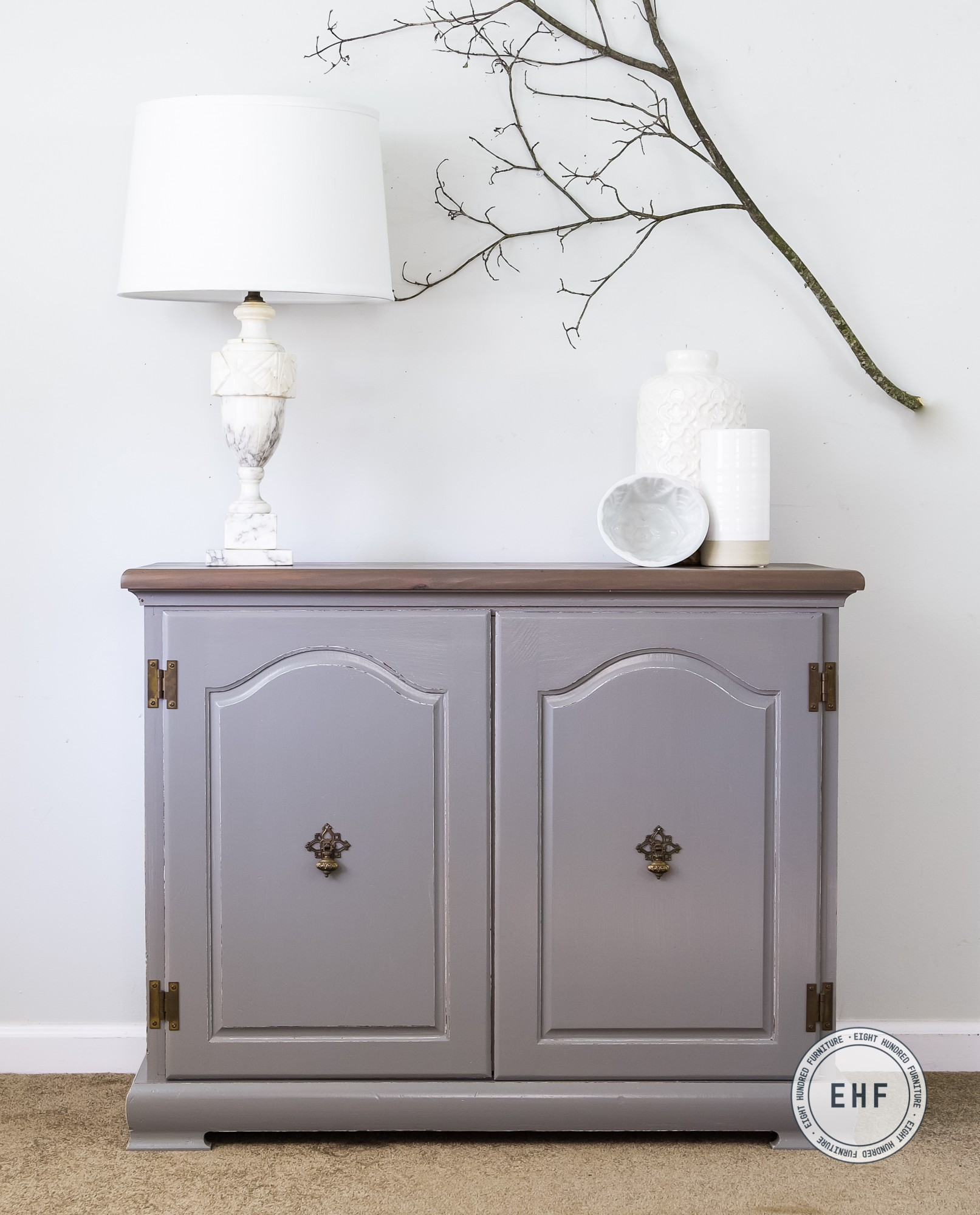 General Finishes, Water Based Wood Stain, Graystone, Eight Hundred Furniture, Perfect Gray Milk Paint, General Finishes Milk Paint, Eight Hundred Furniture, Alabaster Lamp