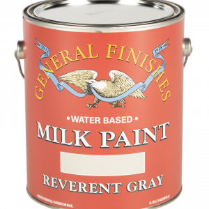 Gallon of Reverent Gray Milk Paint by General Finishes