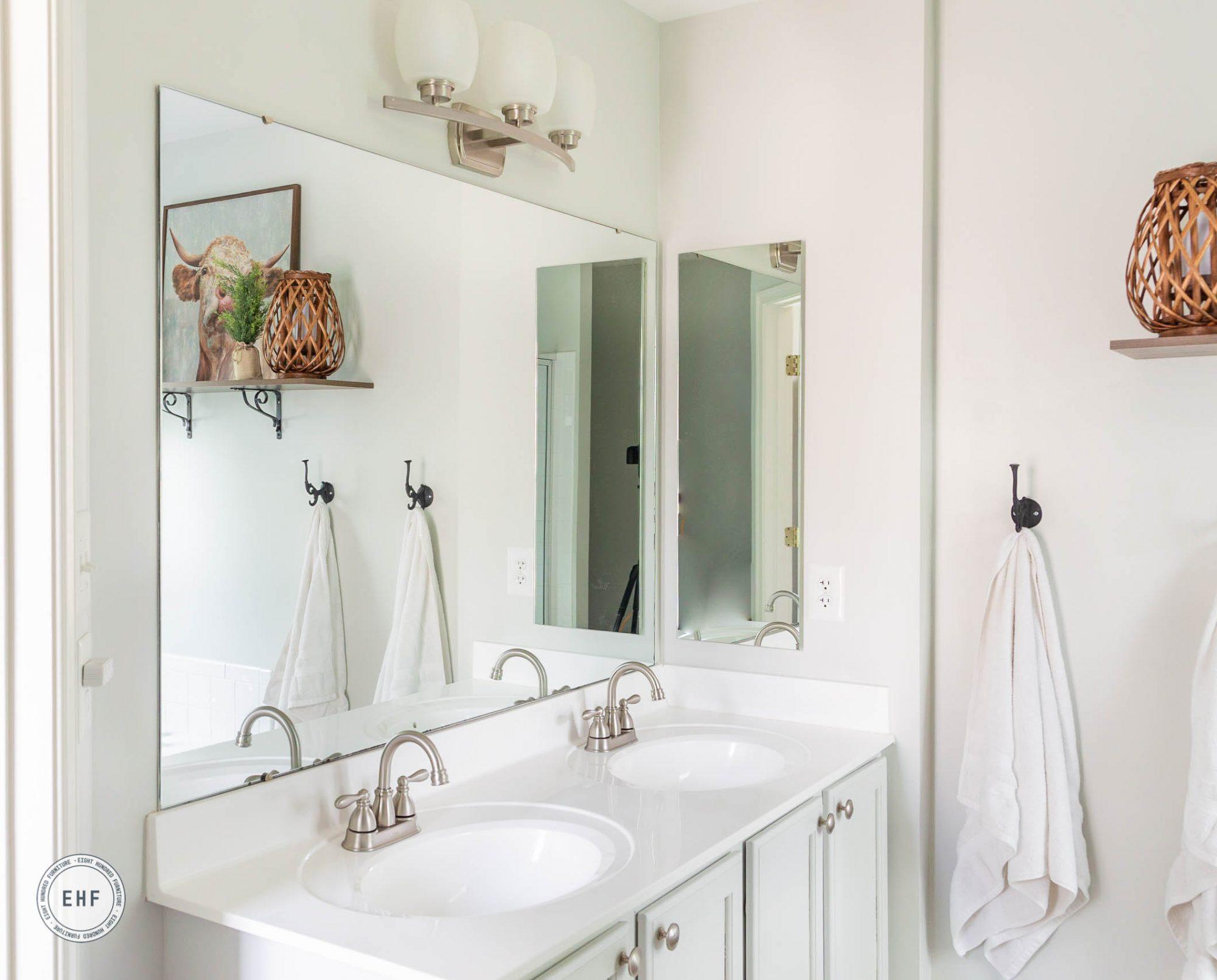 Master bathroom, Eight Hundred Furniture