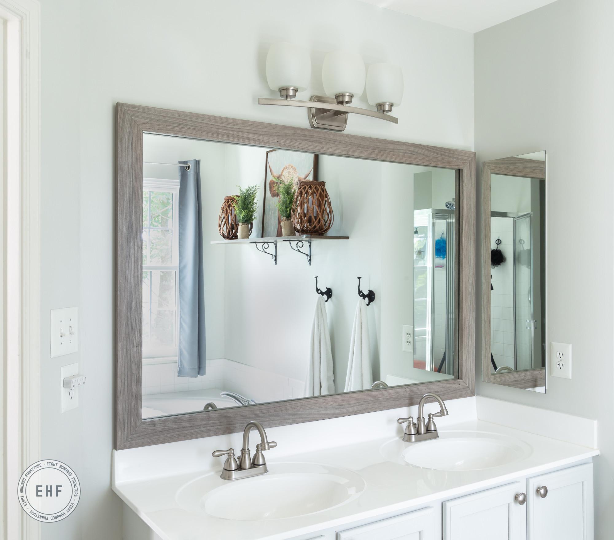 Mirror Mate, Eight Hundred Furniture, Bathroom Mirror, Master Bathroom Mirror