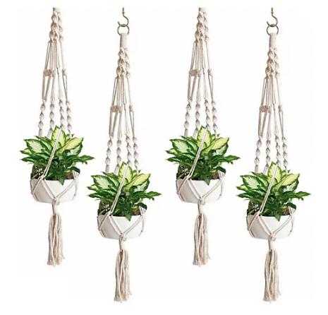 Sorbus Macrame Plant Hangers